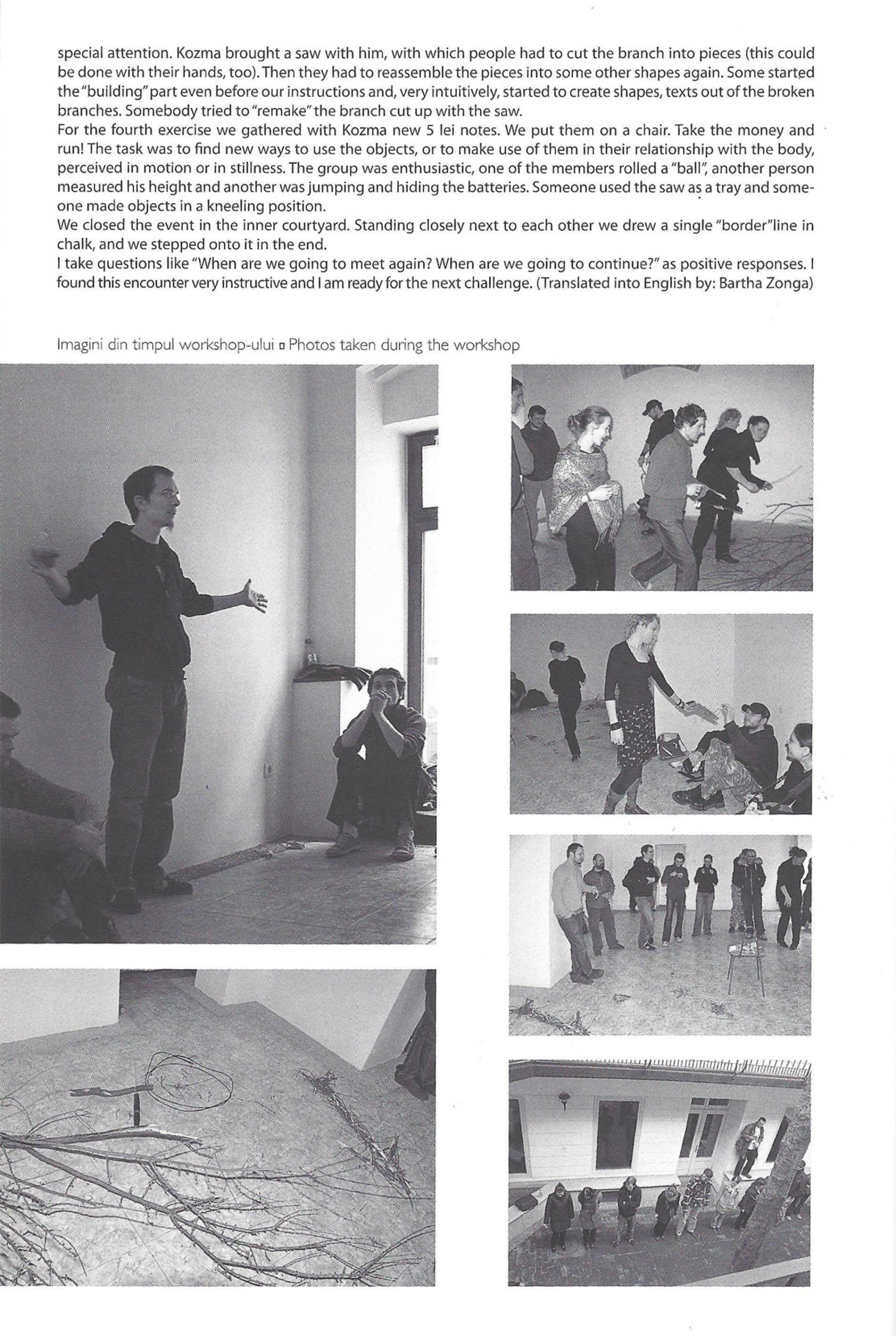 Performance workshop / Baji & Kozma