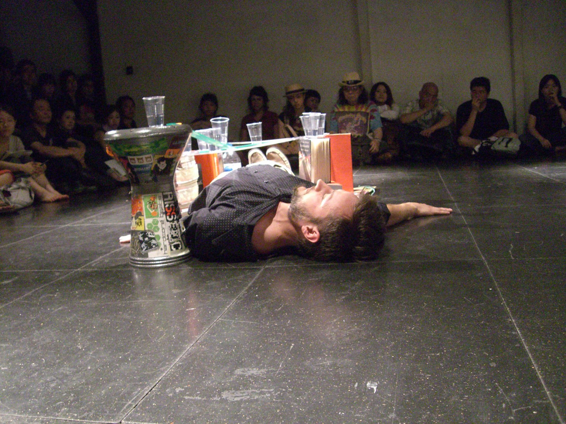 2007 .print of myself. performansz – The 12th NIPAF Asia Performance Art Series 07 – JP