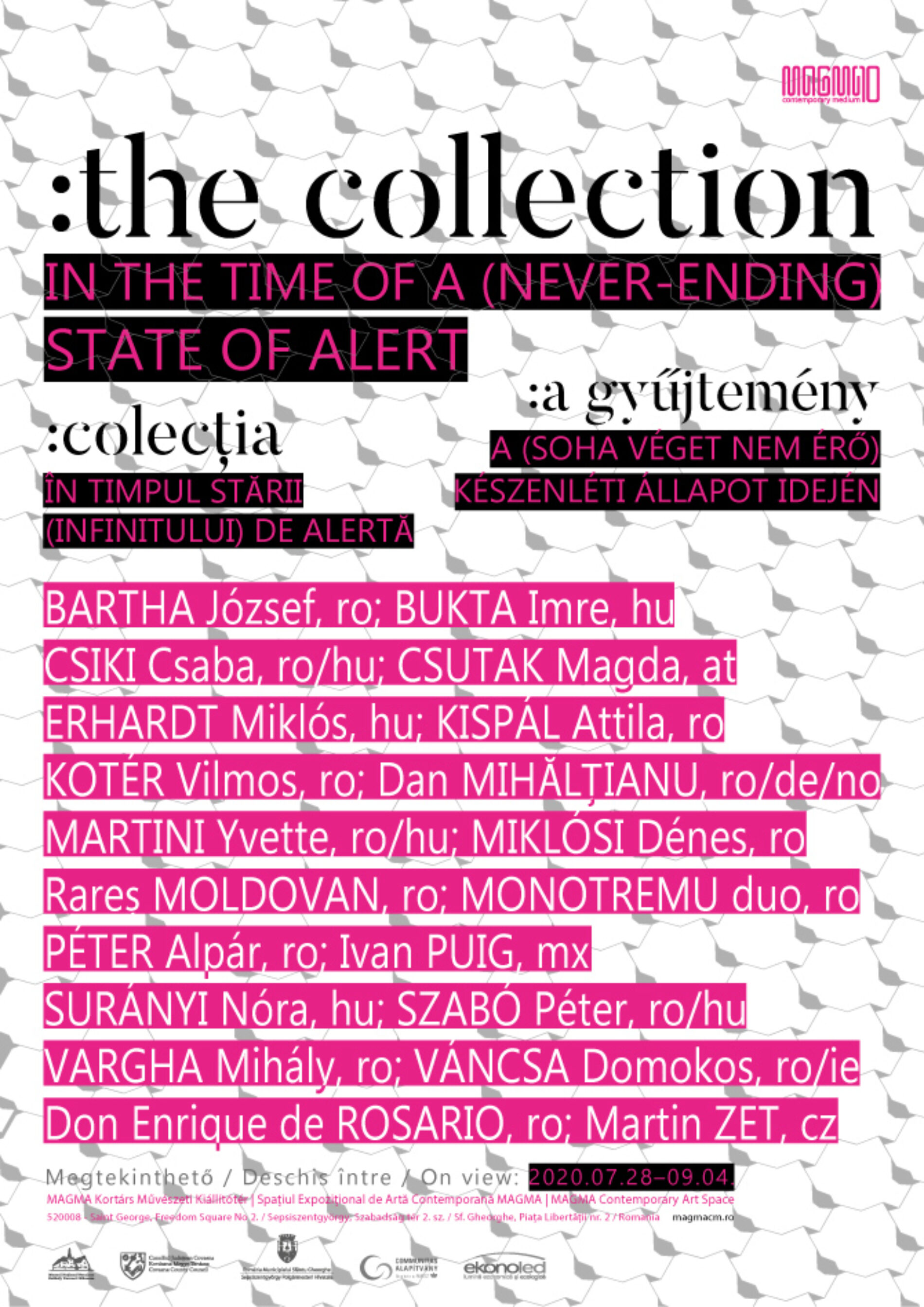 :THE COLLECTION In the Time of a (Never-Ending) State of Alert